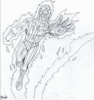 THE HUMAN TORCH by Arak-8