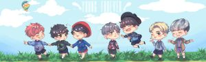 FA : BTS - Young Forever