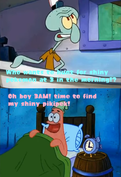 Patrick's time to hunt for shines! by 123emilymason