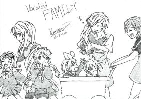 Vocaloid Family by keenan905