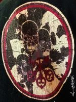 Brothers Ghede and the 3 Keys fabric patch by JaduharaIndradhusara