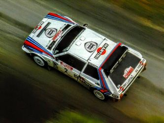 Lancia Delta S4 - above shot by ROGUE-RATTLESNAKE
