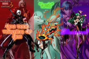 My MvC3 Team Revisited by PPGDBlossom
