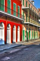 Colorful French Quarter by NB-Photo