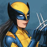 Daily Sketches X-23 by fedde