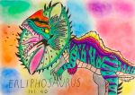 Erliphosaurus by Viperwings
