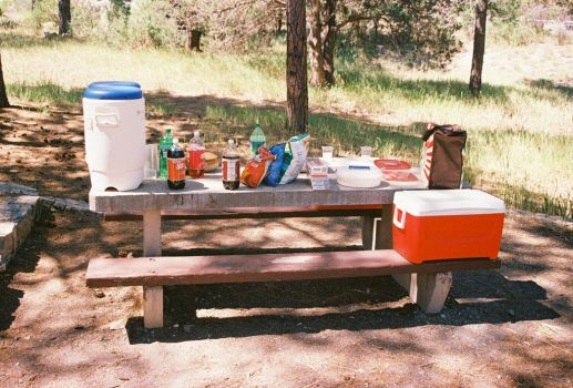Food and Drink Table #2 by Texas1964