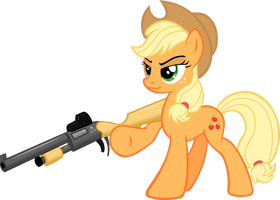 Applejack time for some hunti'n by RatchetHuN