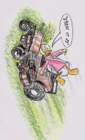 Plucky goes out for a joy ride by TrueLovePrevails