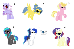 Randomized Shipping Adopts by PaintPalletePony