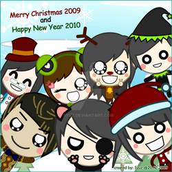 Merry X'mas + Happy New Year by Syuz