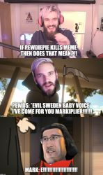 Pewdiepie kills markiplier? by Prince-riley