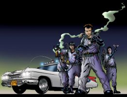 Ghostbusters: Legion by Robisher