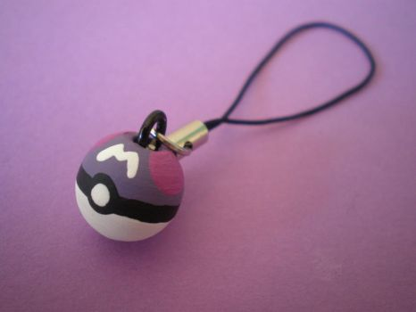 Master Ball Charm by Omonomopoeia