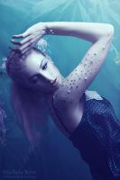 Lady in the Water XI by Michela-Riva