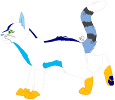 Multicolor fantasy cat adopt (CLOSED) by CheshireGrinAdopts