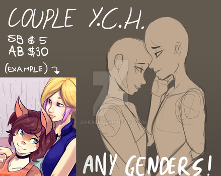 [CLOSED] YCH - Tender couple by JH-Kael