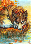 ACEO - End of Summer by Endlen