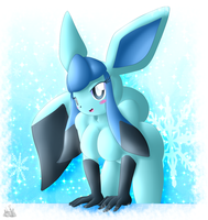 Glaceon Anthro