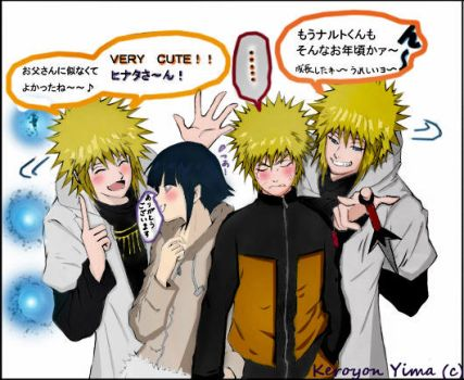 The approval of Yondaime by saru-hina