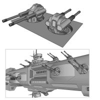 812mm Warhammer Cannon Turret by TheOrangeGuy