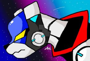 VOLTRON BLUE LION YO by Kyrifian