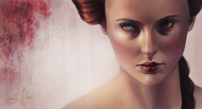 I Remember. Sansa Stark by Sandramalie