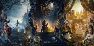 New Beauty and the Beast (2017) Banner Poster by Artlover67