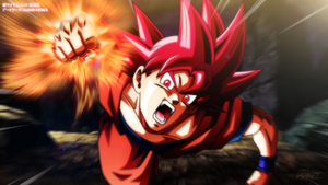 SUPER SAIYAN GOD FIST!!! by AubreiPrince