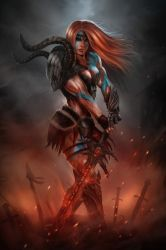 Diablo III Barbarian by el-sharko