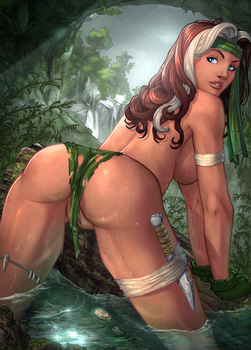 Savage Land Rogue 4: Wet by vest