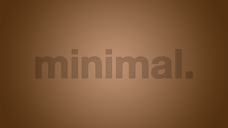 Line Text Minimal Brown 5K Wallpaper.png by RV770