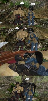 Liu Kang and Kitana: that was unfortunate by martinm95