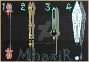 [CLOSED] Design Adopt Weapon - 20 by MhaxiR