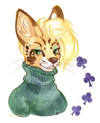 Serval Fella by owlburrow