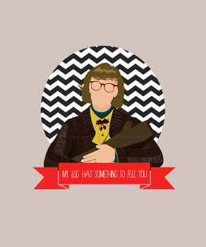 Log lady by Discopada