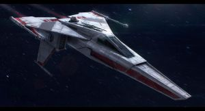 Star Wars Incom T-45 by AdamKop