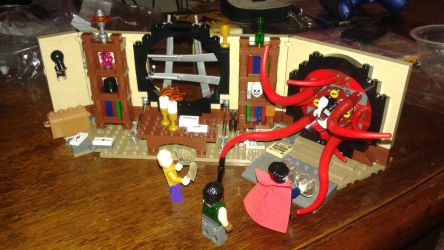 Doctor Strange Lego set by TheArtistAlan