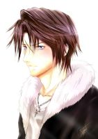 Squall Leonhart by talespirit