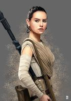 Rey #2 - STAR WARS by Thorongil83