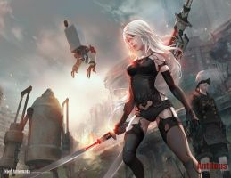 NieR Automata A2 9S(full version) by antilous