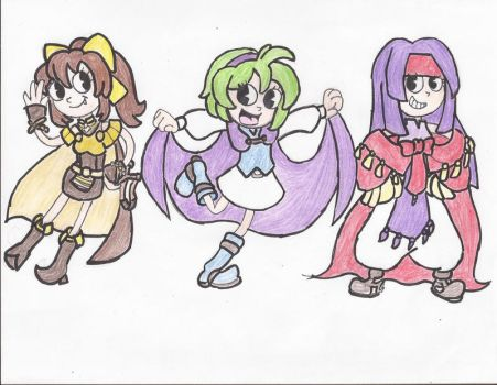 The Three Mages by Willanator93