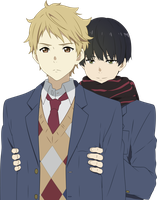 Akihito and Hiro'omi Vector by fncombo