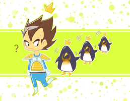 +Mr.Prince and Penguins + by Gokuran