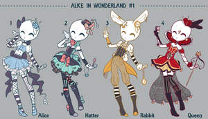 Auction Adopt: ALICE IN WONDERLAND CLOSED by Lunadopt