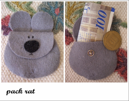 mouse wallet by LoveTuli