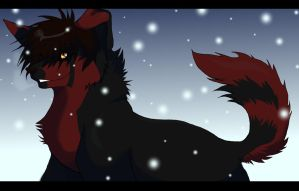 Ayame - In the snow AT by SnakeOuroboros