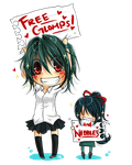 Free Glomps+Nibbles Campaign by kittykatkanie