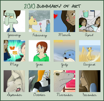 Art Summary of 2010 by Nefepants