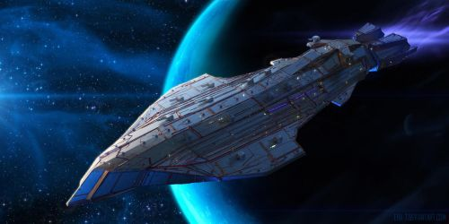 Kalarian Battleship Shark-Class by ERA-7